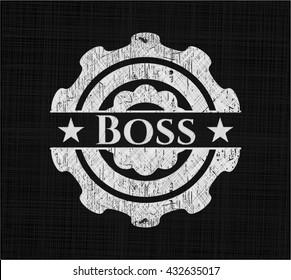 Boss chalk emblem