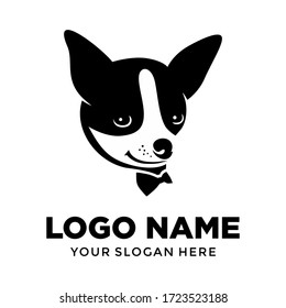 Boss Dog logo template vector design