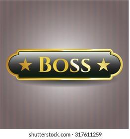 Boss shiny badge
