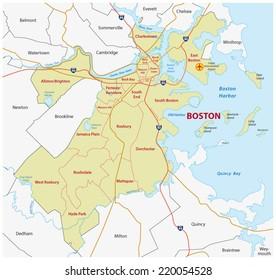 boston administrative map