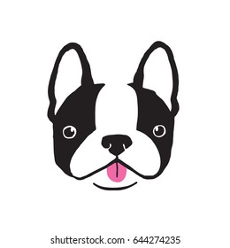boston terrier images stock photos vectors shutterstock rh shutterstock com Cute Boston Terriers Boston Terrier Stencil