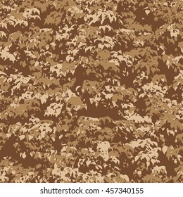 Botanical camouflage pattern seamless background tile