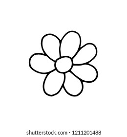 Simple Flower Drawing Stock Illustrations Images Vectors Shutterstock