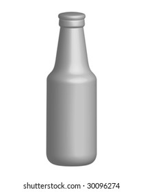 bottle of beer vector illustration