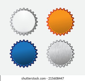 Bottle caps icon