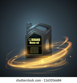 Bottle engine oil