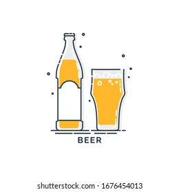 Beer Clip Art Template High-Res Vector Graphic - Getty Images