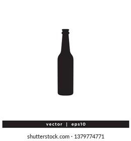 bottle icon beverage symbol design element