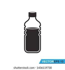 bottle icon vector design illustration