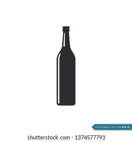 Bottle Icon Vector Template