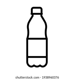 Bottle Isolated Vector icon which can easily modify or edit