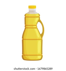 Bottle oil vector icon.Cartoon vector icon isolated on white background bottle oil .