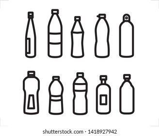 The bottle is a storage area with a neck part that is more stoppers. Bottles from plastic are usually made by extrusion
