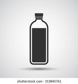 Bottle of water icon - Vector