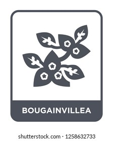 bougainvillea icon vector on white background, bougainvillea trendy filled icons from Nature collection, bougainvillea simple element illustration, bougainvillea simple element illustration