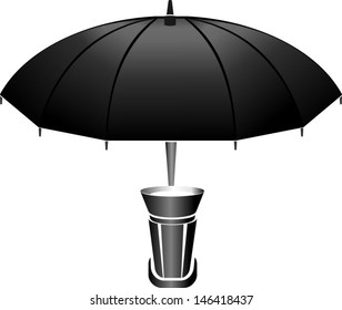 Bounce umbrella