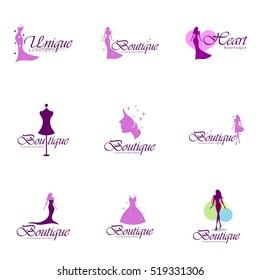 Boutique, Beauty logo series