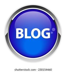 bouton internet blog