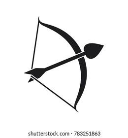 bow arrow vector illustration, cupid illustration