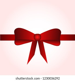 Bow for decoration. bow symbol. pettern with bow. bow for fresent box.