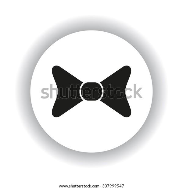 bow tie. icon. vector design