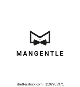 The bow tie vector logo.