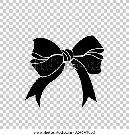 bow vector icon black illustration stock vector royalty free rh shutterstock com box vector icon bow victor
