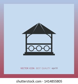 Bower icon, vector design element