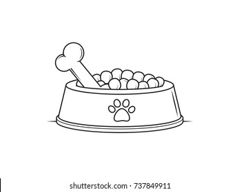 Dog Bowl Images, Stock Photos & Vectors | Shutterstock