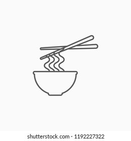bowl of noodle icon