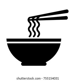 Bowl of Ramen Noodle Icon