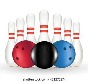 Bowling and Bowling pin