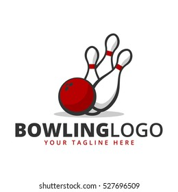 Bowling team / club logo template.