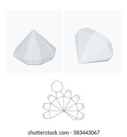 box diamond layout