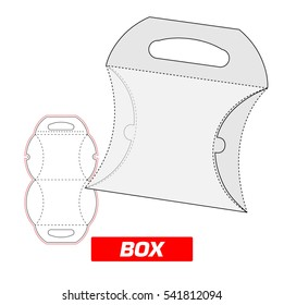 box with a handle, cutting