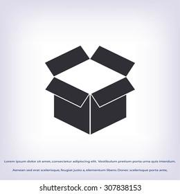 box icon ,Vector Illustration
