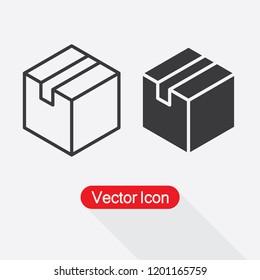 Box Icon Vector Illustration Eps10