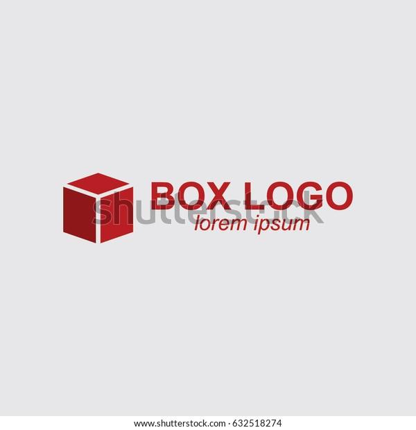 Box Logo Vector Template