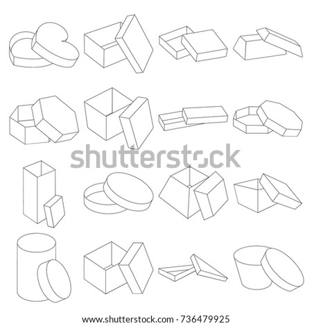 Box Package Packaging Other Web Icon Stock Vector Royalty Free