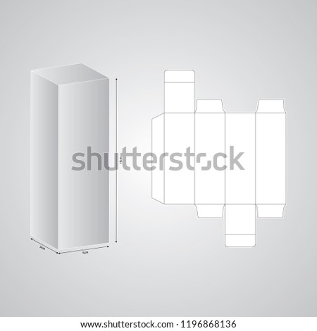 Box Packaging Design Templates Stock Vector Royalty Free
