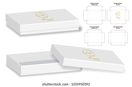 Box images stock photos vectors shutterstock box packaging die cut template design 3d mock up reheart Choice Image