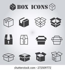 Box pictogram