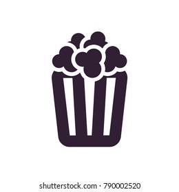box of popcorn icon