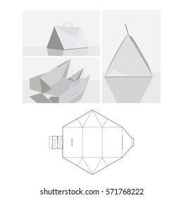 box triangular layout