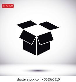 box vector icon