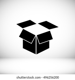 box vector icon, vector best flat icon, EPS