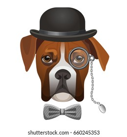 5d41b87305f6a Dog with Magnifying Glass Images