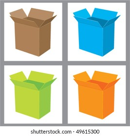 Boxes in Colors