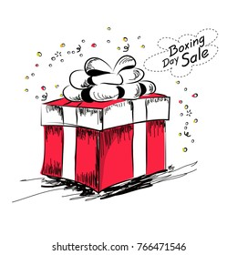 Boxing Day (Boxing Day is a holiday celebrated the day after Christmas Day)