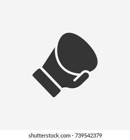 Boxing glove icon illustration isolated vector sign symbol